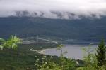 Nordkap, Hurtigruten und Lofoten: Rombak-Brücke bei Narvik
