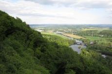 Ruhrsteig – Sigiburg Runde – Blick auf das Ruhrtal und die Lennemündung