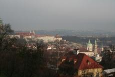 Aussicht vom Petřín-Berg