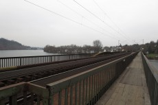 Rheinburgenweg #2 - Moselbrücke in Koblenz-Güls