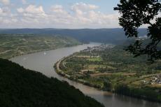 Rheinburgenweg #3 - Rheinschleife bei Boppard