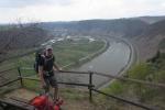 Rheinburgenweg #2 - Pause hoch über der Mosel