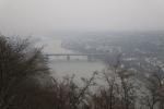 Rheinburgenweg #2 - Der Rhein bei Koblenz im Dunst