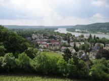 Rheinsteig #2 - Hier war der Rhein noch zu sehen ...