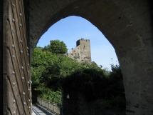 Rheinsteig #10 - Blick auf Burg Liebenstein