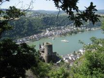 Rheinsteig #11 - Burg Katz