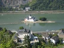 Rheinsteig #11 - Die Pfalz bei Kaub
