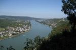 Rheinsteig #9 - Aussicht rheinabwärts