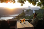 Rheinsteig #9+10 - Blick von Burg Liebenstein