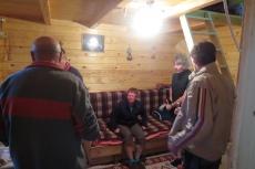 Karpaten - Baumhausbesichtigung