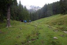 Karpaten - Aufstieg zur Curmatura-Hütte