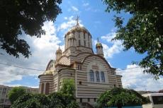 Karpaten - Kathedrale in Fagaras