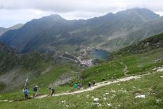 Karpaten - Abstieg zum Balea-See