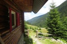 Karpaten - Hütte der Bergwacht im Sambata-Tal