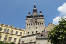 Karpaten - Schäßburg, Stundturm