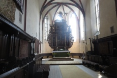 Karpaten - Schäßburg, Biserica Manastirii