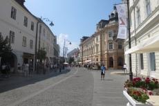 Karpaten - Fußgängerzone in Hermannstadt