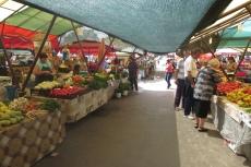 Karpaten - Markt in Hermannstadt