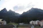 Karpaten - Blick vom Balkon ins Bucegi-Gebirge