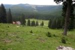 Karpaten - Blick zurück ins Ialomita-Tal