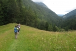 Karpaten - Abstieg in die Zarnesti-Schlucht