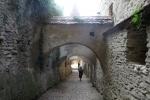 Karpaten - Mauern der Kirchenburg in Biertan
