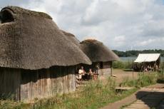 Schleswig-Holstein: Wikingerhäuser in Haithabu
