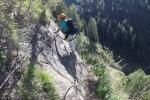 Im Stuibenfall-Klettersteig