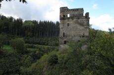 Traumschleife Masdascher Burgherrenweg - Ruine der Burg Balduinseck