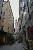 Stadtbesichtigung Salzburg -  Getreidegasse