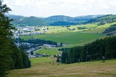 Uplandsteig - Vom Ettelsberg nach Willingen - Blick auf Willingen