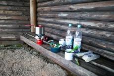 """Uplandsteig – Trekkingabenteuer im Sauerland Tag #1 - Trekkingplatz """"Bockelau bei Eimelrod"""" - Frühstück"""