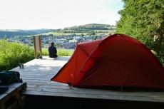 """Uplandsteig – Trekkingabenteuer im Sauerland Tag #2 - Trekkingplatz """"Büller Höhe bei Usseln"""""""