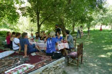 Usbekistan - Gästehaus in Khayat