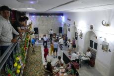 Tadschikistan - Abendessen in Pandschakent