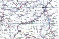Übersichtskarte Via Engiadina