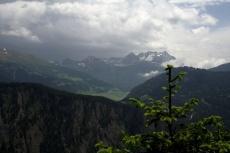 Via Engiadina - Gewitter Richtung Österreich