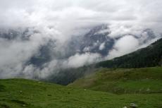 Via Engiadina - Wolken auf allen Ebenen