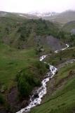 Via Engiadina - viel Schmelzwasser