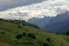 Via Engiadina - Blick zurück nach Guarda