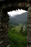 Via Engiadina - Blick vom Fortezza Chaschinas