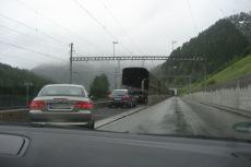 Autoverladung Vereina-Tunnel