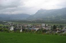 Rhein in Liechtenstein