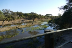 Botswana - Der Khwai-Fluss an der Mogotlho-Lodge