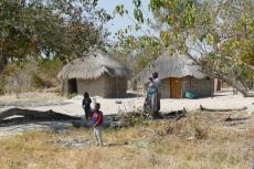 Botswana - Typische Dorfszene