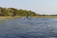 Botswana - Mit dem Speedboat ins Okavangodelta