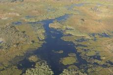 Botswana - Das Okavangodelta aus der Vogelperspektive