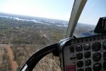 Zimbabwe - Anflug auf die Viktoriafälle