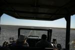 Botswana - Pirschfahrt in der Makgadigadi-Salzpfanne