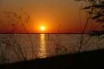 Botswana - Sonnenuntergang in der Makgadigadi-Salzpfanne